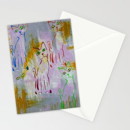 Magickal,  Mystical Cats Stationery Cards