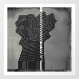 Building #87 Art Print