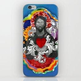 Sagrado Coração de Jesus (Sacred Heart) #2 iPhone Skin