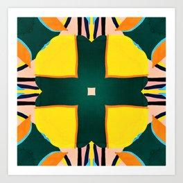 Tile Mania Art Print