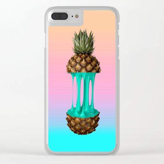 Goo Pineapple Clear iPhone Case