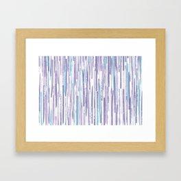 Cerga on violet Framed Art Print