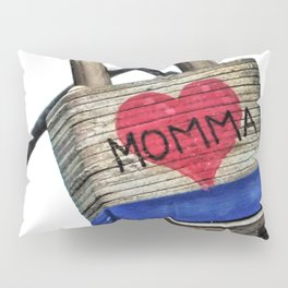 Momma's Valentine Pillow Sham