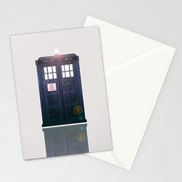 The Tardis Light Stationery Cards
