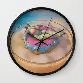 Donut Judge Me Wall Clock