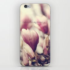 Catch Spring Fever iPhone & iPod Skin