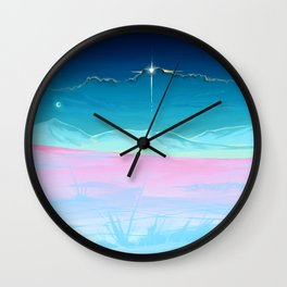 Not on earth anymore Wall Clock