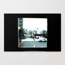 OUTSIDE Canvas Print