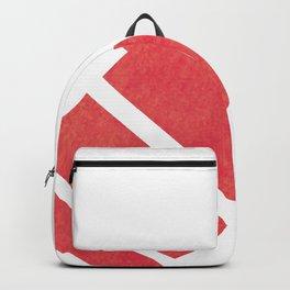 Red Orange Backpack