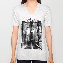Brooklyn Nights Unisex V-Neck