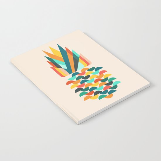 Groovy Pineapple Notebook