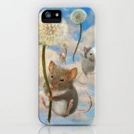 Dandemouselings iPhone Case