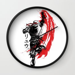 Traditional Fighter Wall Clock