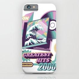 Japanese Greatest Hits iPhone Case