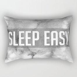 Sleep Easy Marble Mantra Rectangular Pillow