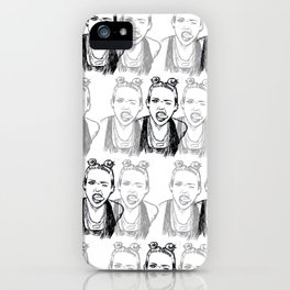 Miley shirt iPhone Case