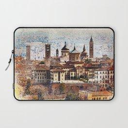 Citta Alta In Bergamo Painting Laptop Sleeve