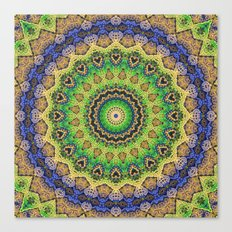 Friday's Mandala Canvas Print