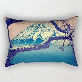 Pausing at Dojiro Rectangular Pillow