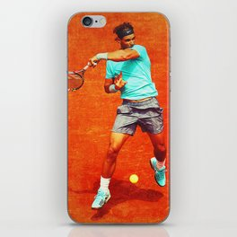 Rafael Nadal Tennis On Clay iPhone Skin
