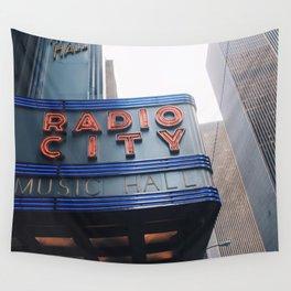 Radio City Music Hall Wall Tapestry