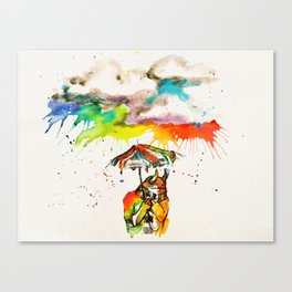 Went For A Walk Canvas Print