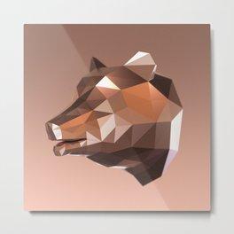 Bears Grill Metal Print