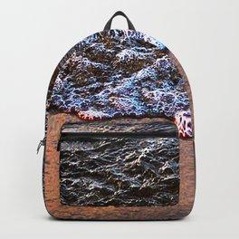 Beach Shore Waves Backpack