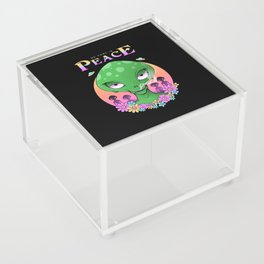 We Come In Peace Acrylic Box
