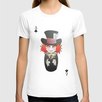 mad hatter T-shirts featuring Kokeshi Mad Hatter by Pendientera