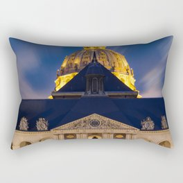 the Hotel of the invalids in Paris Rectangular Pillow