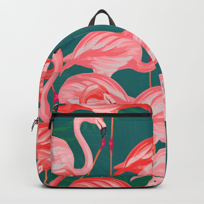 flamingo tropical Backpack