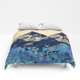 Blue Mountains #society6 #decor #buyart Comforters