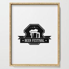 Beer Fisteval Serving Tray