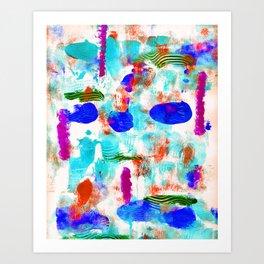 The Blues Art Print