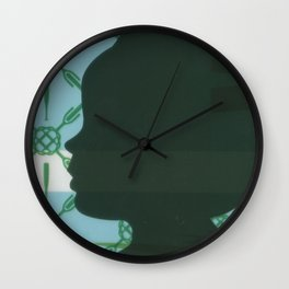 Lawn study 3 Wall Clock