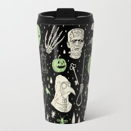 Whole Lot More Horror: BLK Ed. Travel Mug