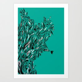 Shrubs Art Print