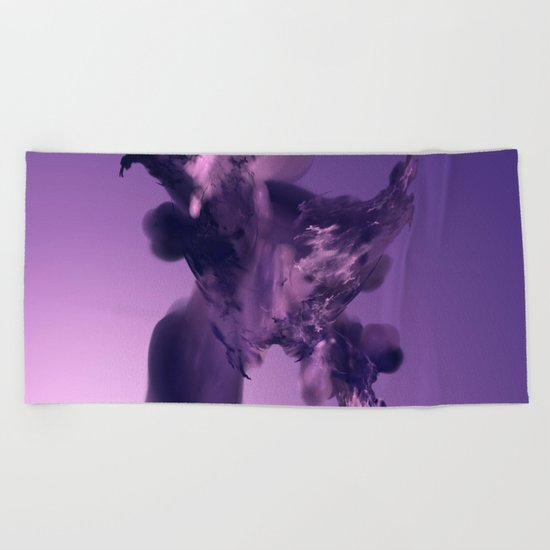 the final - birth of a galaxie Beach Towel