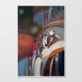 Zero Point Field VII Canvas Print