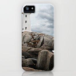Peggy's Cove Light House -- Nova Scotia iPhone Case
