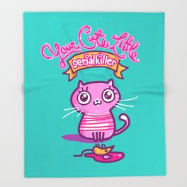 Your Cute Little Cat Throw Blanket