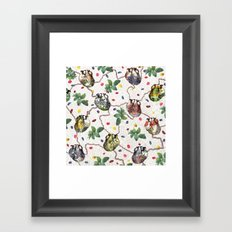 We Are Interconnected Framed Art Print