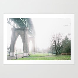Cathedral Park, OR Art Print