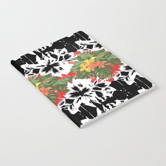 Flower Stamp Notebook