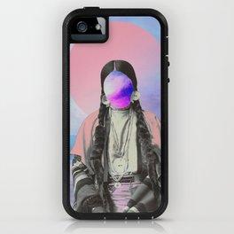 Pink Sun iPhone Case