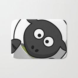 Cartoon Cute Sheep Bath Mat