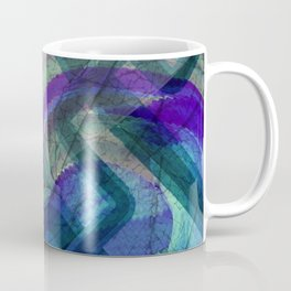 Industrial Landscape Abstract  Coffee Mug