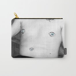 gaze into my nipples of the future Carry-All Pouch