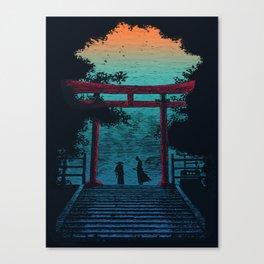 The Final battle : Samurai Canvas Print